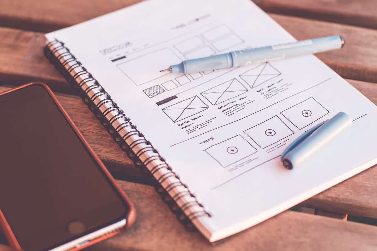 Interaction design / Wireframes